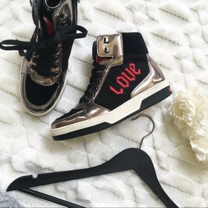 Love Moschino Heart High Top Sneakers